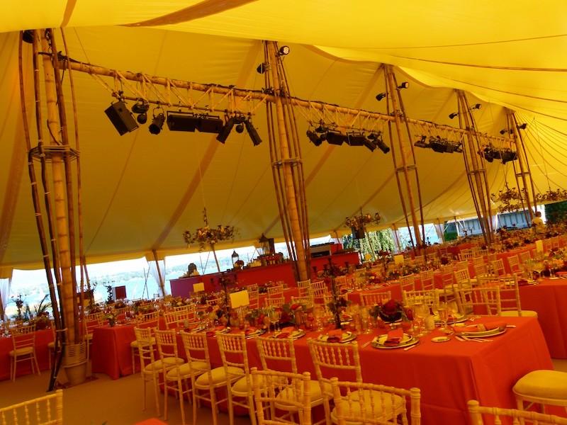 décoration tente bambou suisse genève