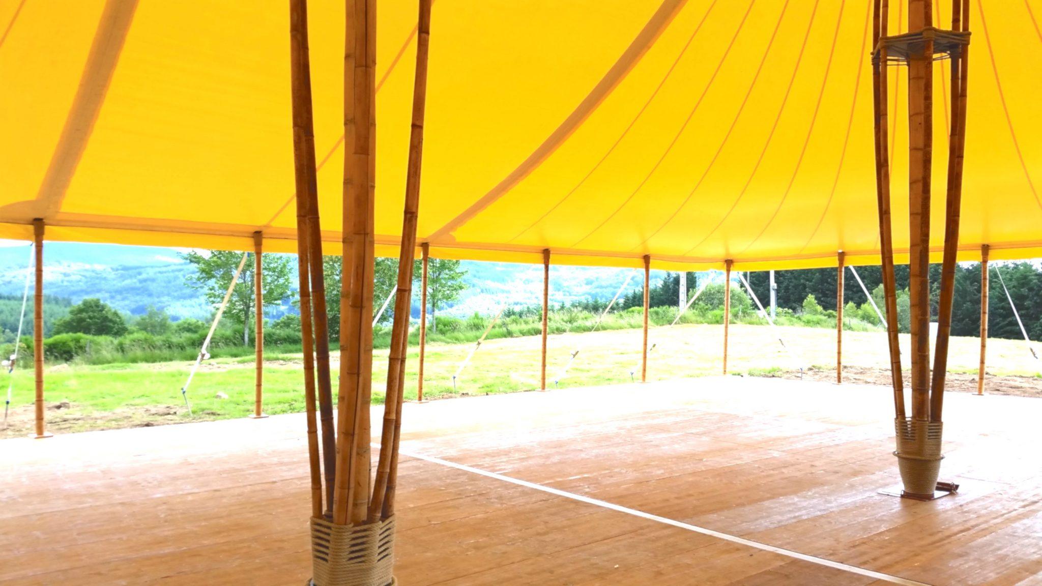 Location tente bambou à Viscomtat, Puy-de-Dôme,Auvergne- Rhône-Alpes