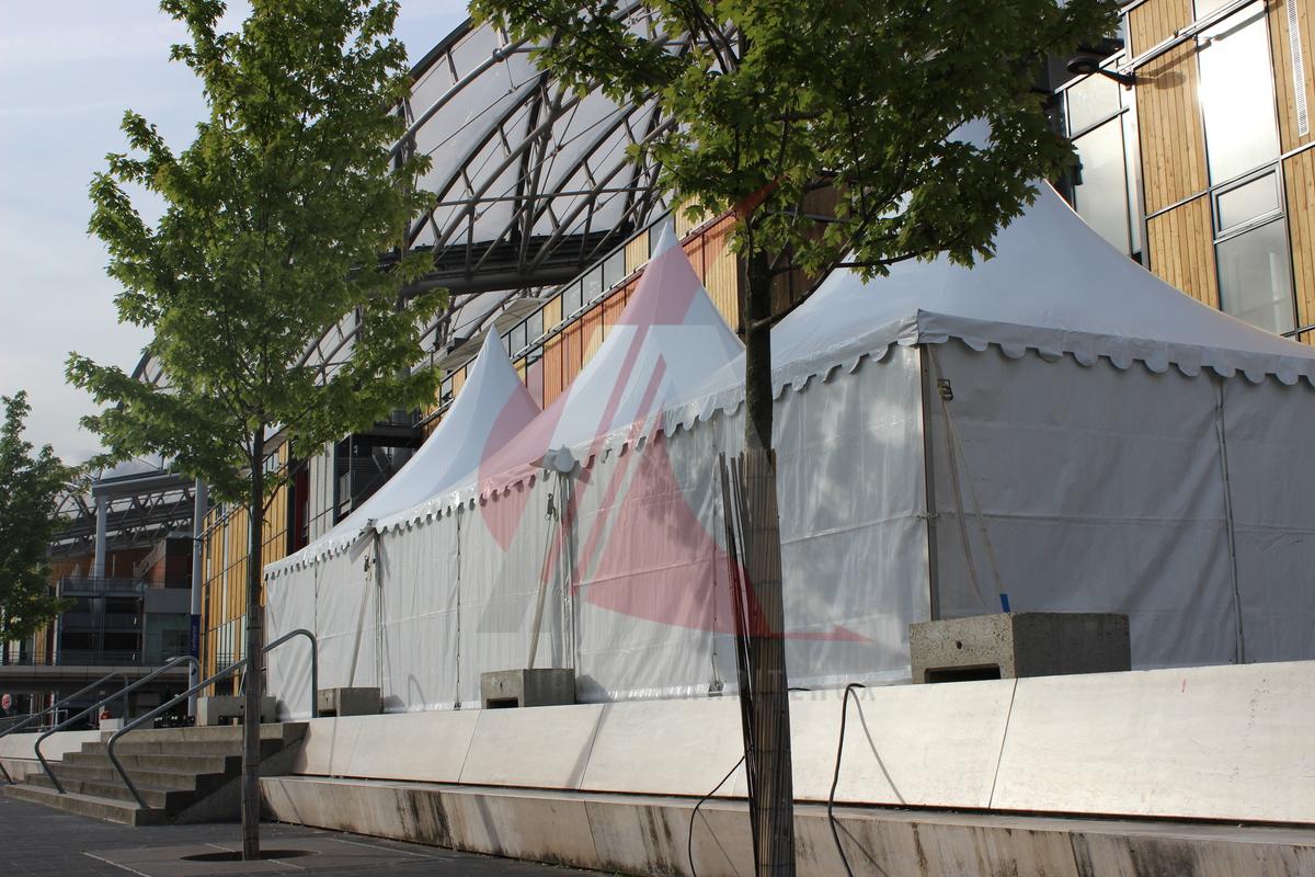 Location tente de réception à Lyon Confluence, Auvergne-Rhône-Alpes