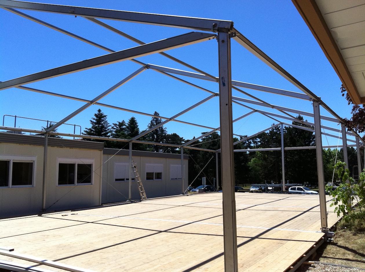 Location structure ou tente de réception pour convention médicale, à Villefranche-sur-Saône, Caladois, Auvergne-Rhône-Alpes, tente 150 personnes